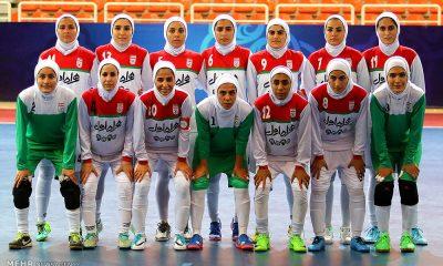 2566758 400x240 ایران 3 روسیه 4 ، شکست دختران فوتسالیست در تهران