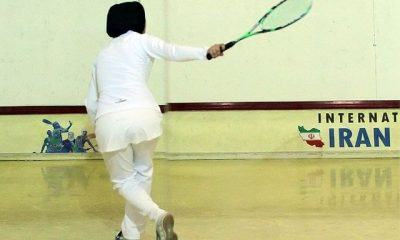 اسکواش 400x240 اسکواش قهرمانی آسیا ؛ 3 پیروزی برای دختران ایران و کسب عنوان ششم