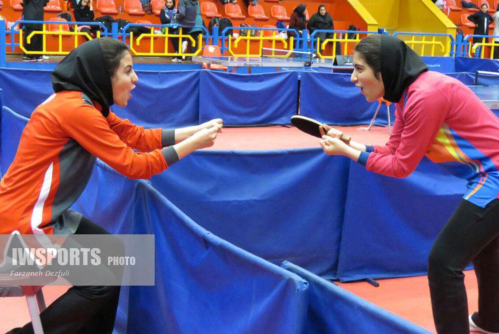 تصاویر تور تنیس روی میز دختران کشور در شیراز ؛ بخش اول