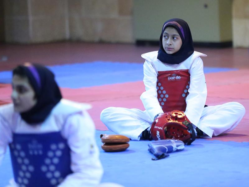 تصاویر اردوی تیم ملی تکواندو نوجوانان دختر پیش از اعزام به تونس