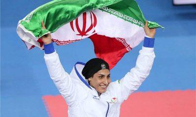 حمیده عباسعلی رسانه ورزش زنان ایران iwsports 400x240 حمیده عباسعلی در لیگ جهانی کاراته پاریس طلایی شد