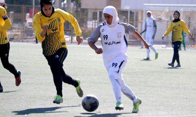 سارا قمی لیگ برتر فوتبال زنان شهرداری بم Sara Ghomi football women iran premier league shahrdari bam 400x240 سارا قمی: هنوز برای بازی کردن انگیزه دارم / مربی می شوم اما وقتی دیگر!