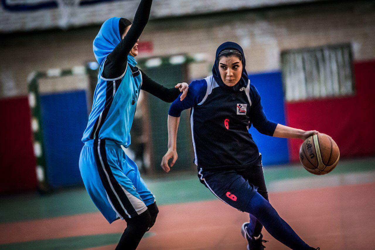 شادی عبدالوند بازیکن تیم بسکتبال زنان ساسان کرمان بسکتبال بانوان Shadi Abdolvand iran basketball women 3 شادی عبدالوند ؛ ستاره ای که داشتن او برای هر تیمی آرزوست