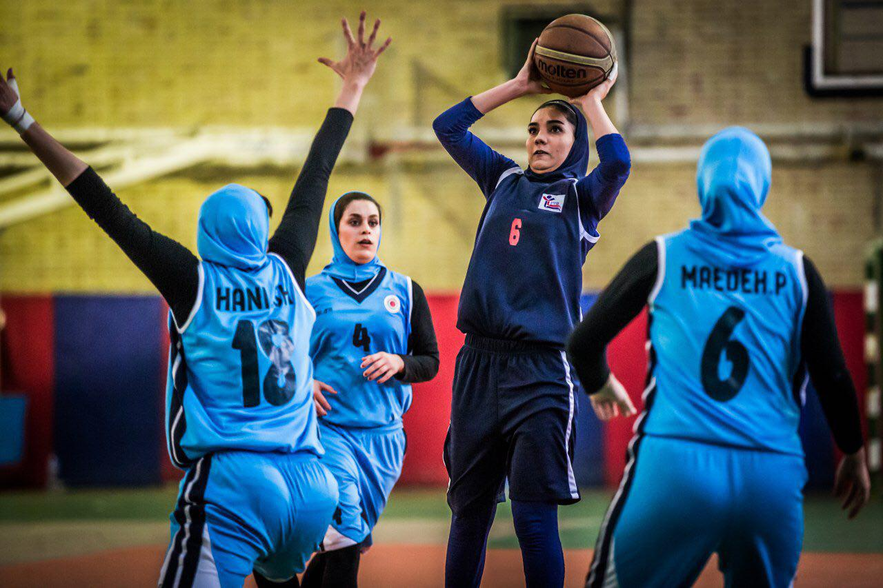 درباره خانم تریپل دبل بسکتبال ایران ؛ شادی عبدالوند و غریزه بسکتبالی!