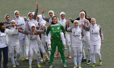 شهرداری بم لیگ برتر فوتبال فوتبال بانوان iran football women premier league iwsports 400x240 هفته بیستم لیگ برتر فوتبال؛ پیروزی بزرگ بم و اتفاقات جنجالی در اصفهان