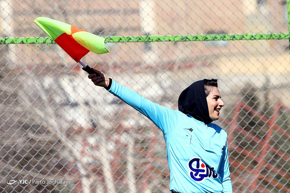 تصاویر دیدار ذوب آهن و پارس جنوبی بوشهر در لیگ برتر فوتبال زنان