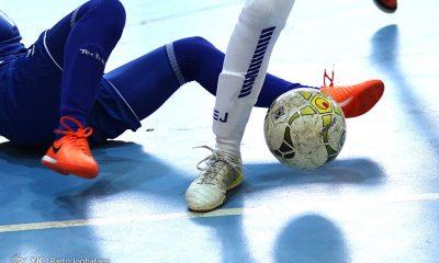 فوتسال بانوان ایران 400x240 مرحله نهایی فوتسال دسته اول؛ پیروزی پرگل برای متین فرخ شهر