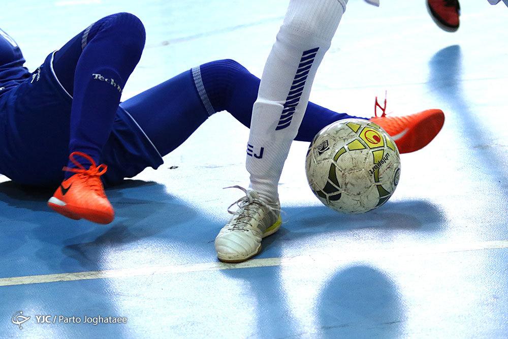 مرحله نهایی فوتسال دسته اول؛ پیروزی پرگل برای متین فرخ شهر