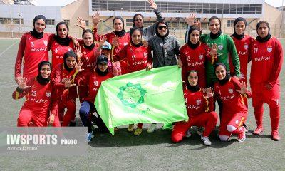 قهرمانی شهرداری بم در لیگ برتر فوتبال زنان ایران در سال 96 400x240 پایان بی حرف و حدیث لیگ ؛ قهرمانی رسمی شهرداری بم با برتری بر سایه ذوب آهن