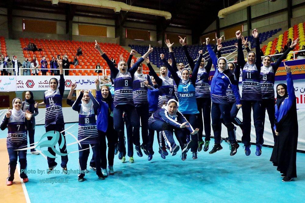 پیکان در اوج قله والیبال زنان ایران و حسرت برای ذوب آهن