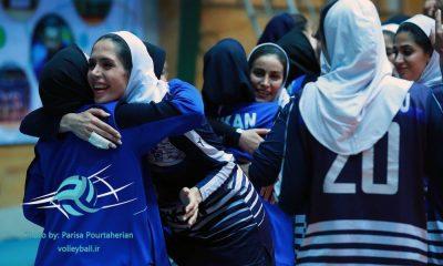 لیگ برتر والیبال زنان والیبال بانوان پیکان نماینده تهران قهرمانی لیگ 6 400x240 توپکای بابلسر صفر پیکان تهران 3 / پیروزی قاطع ؛ هدیه تولد پیکانی ها به شعبانیان