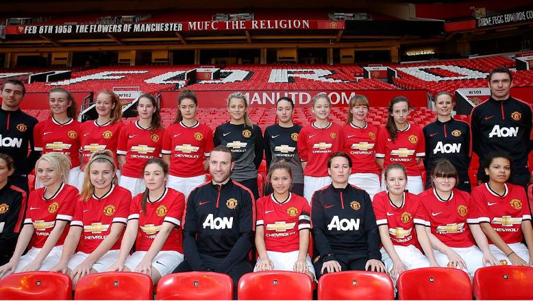 منچستریونایتد تیم فوتبال زنان حرفه ای راه اندازی می کند
