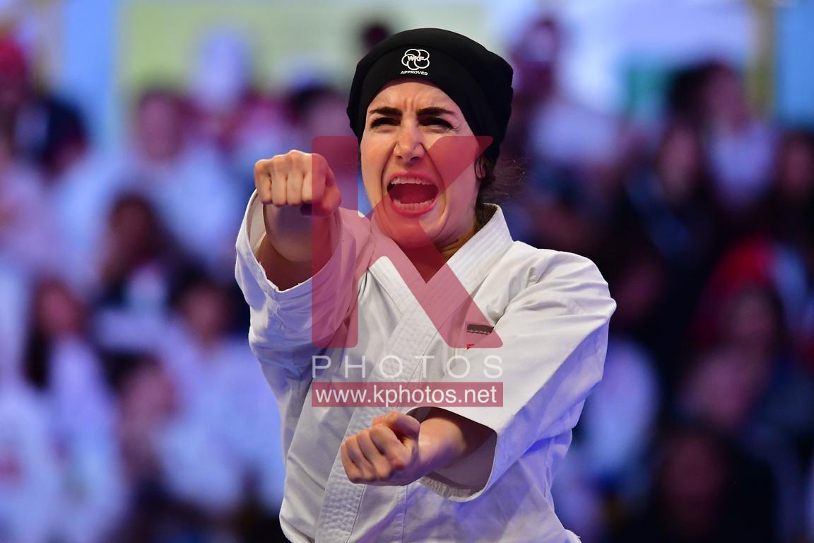 لیگ جهانی کاراته در برلین / وداع زودهنگام طراوت خاکسار و نگین باقری
