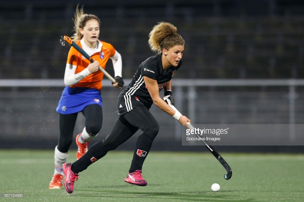 تصاویر لیگ هاکی زنان در هلند
