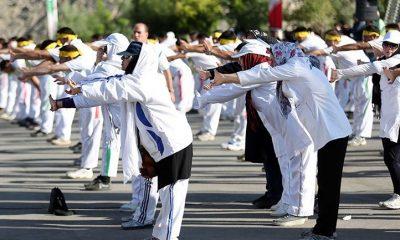 ورزش همگانی زنان سلامت لاغری iwsports 400x240 18 دختر ورزشکار از استان مرکزی در سال 96 ملی پوش شدند