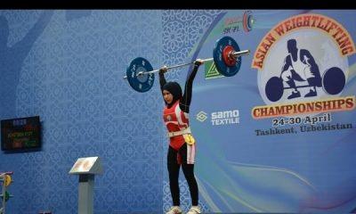 وزنه برداری زنان دختران 400x240 بی علاقگی خانوادهها به حضور دختران در وزنهبرداری در اصفهان