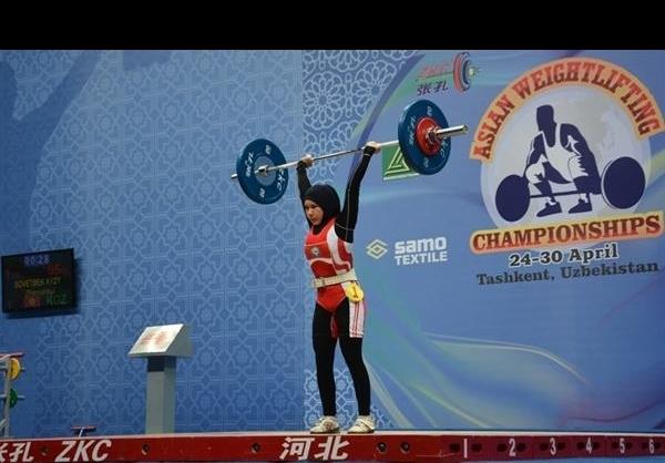 ملی پوش وزنه برداری زنان دوپینگ نکرده است
