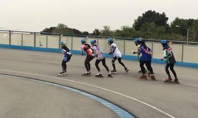 اسکیت بانوان مسابقات انتخابی تیم ملی جوانان و بزرگسالان female skating in iran 1 400x240 دختران اسکیت باز در تلاش برای اعزام به مسابقات جهانی اسپانیا