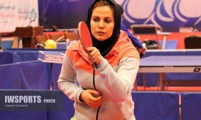 تمرین تیم ملی تنیس روی میز بانوان پیش از اعزام به مسابقات جهانی سوئد Iran women tennis table training national team 1 Neda shahsavari ندا شهسواری 400x240 تنیس روی میز قهرمانی جهان | حذف ندا شهسواری با شکست برابر هنگ کنگ