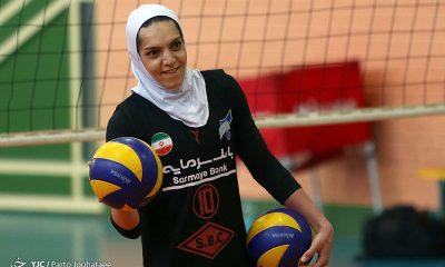 تمرین تیم ملی والیبال بانوان Iran women volleyball training session 29 400x240 مائده برهانی به سامسون اسپور ترکیه پیوست | نظرات برهانی درباره تیم جدید، لیگ و تیم ملی