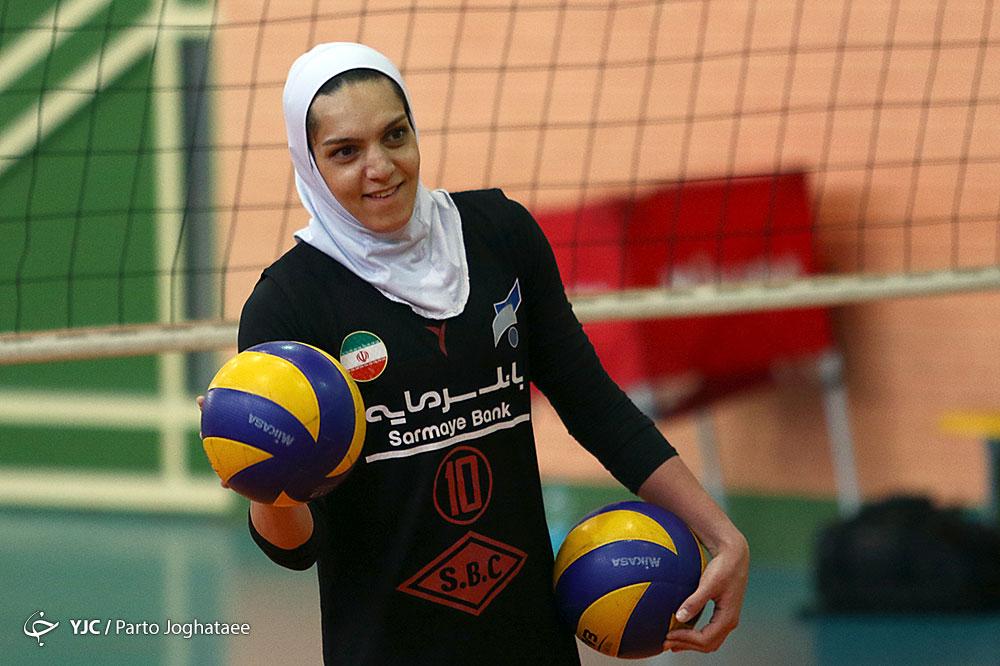 تمرین تیم ملی والیبال بانوان Iran women volleyball training session 29 مائده برهانی به سامسون اسپور ترکیه پیوست | نظرات برهانی درباره تیم جدید، لیگ و تیم ملی