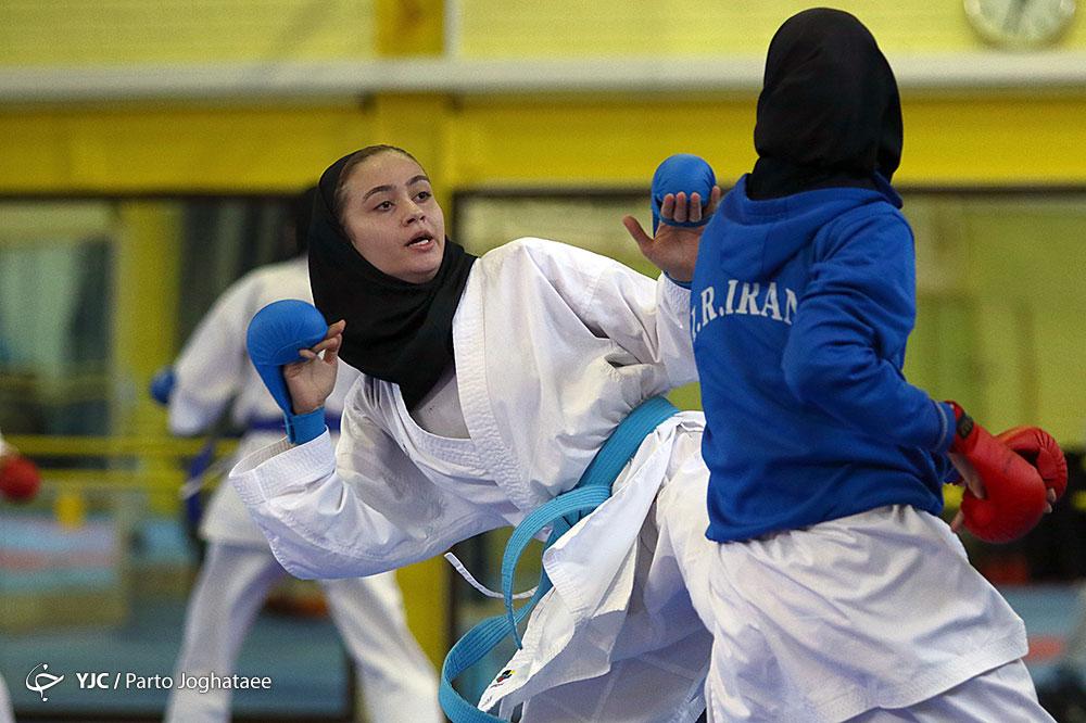 کاراته نوجوانان و جوانان آسیا / پایان کار دختران ایران با 6 مدال باارزش