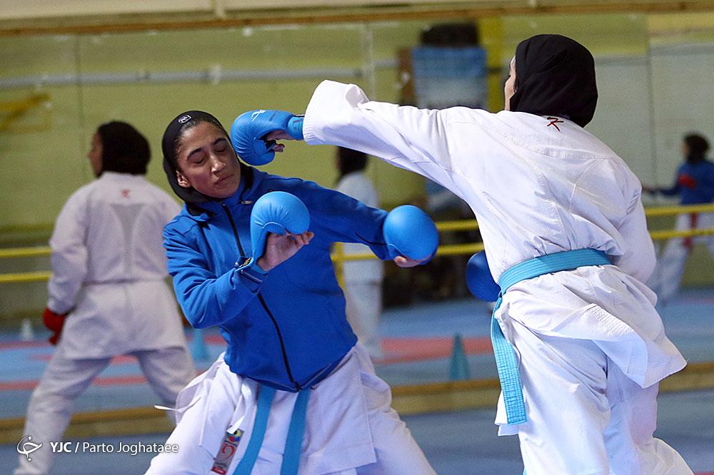 انتخابی تیم ملی کاراته بانوان در جشنواره هانتی؛ مسافران اردن مشخص شدند