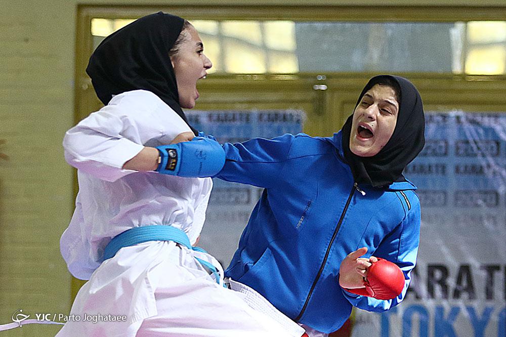 انتخابی تیم ملی کاراته امید/ شنه کاظمی و شبنم واحدی به اردوی نهایی رسیدند