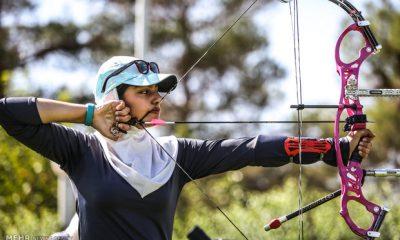 تیراندازی با کمان بانوان iran women archery iwsports 400x240 آغاز اردوی تیم ملی تیراندازی با کمان در دانشگاه بوعلی سینا همدان