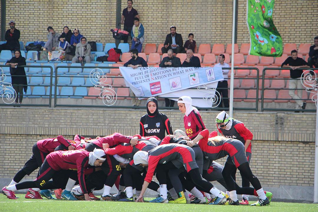 گزارش Asia Rugby از راگبی دختران ایران؛ استقبال جالب و مشکلی به نام کمبود توپ!