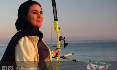 زهرا نعمتی تیراندازی با کمان Zahra Nemati iranian archer olympic women in sports 400x240 زهرا نعمتی: تمرکز روی پارالمپیک؟ این نظر را کدام کارشناس داده است؟