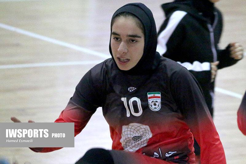 زیبا افروغ ؛ فوتسالیست آینده داری از خمین: بازی با چین استرس تیم ملی را از بین برد