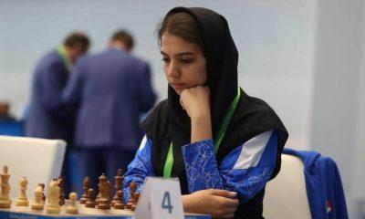 سارا خادم الشریعه Sara Khadem Al Sharia Iran chess player 400x240 انتقاد خادم الشریعه از سایپا : با پول قراردادمان بستنی می خریم (عکس)