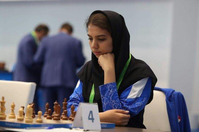 سارا خادمالشریعه در رتبه ۴۱ رنکینگ شطرنج جهان