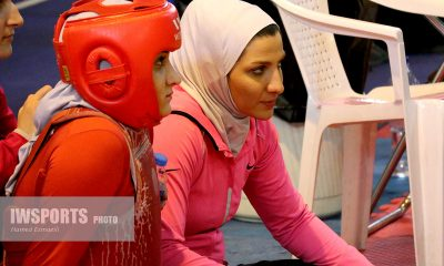 صدیقه دریایی ووشو ورزش زنان ورزش بانوان Seddighe Daryaei Wushu iran women in sports iwsports 400x240 ویدئو | تمرینات صدیقه دریایی ملی پوش ووشو بانوان در تایلند