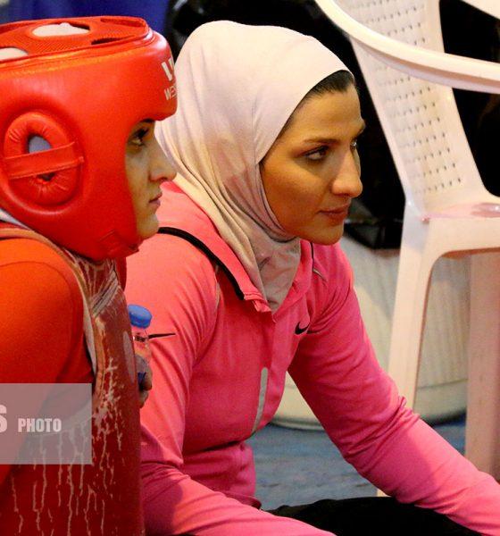 صدیقه دریایی ووشو ورزش زنان ورزش بانوان Seddighe Daryaei Wushu iran women in sports iwsports 560x600 ویدئو | تمرینات صدیقه دریایی ملی پوش ووشو بانوان در تایلند