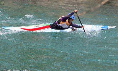 قایقرانی بانوان آب های خروشان در کرج 6 400x240 ویدئو رقابت های قایقرانی آب های خروشان جوانان و امید کشور