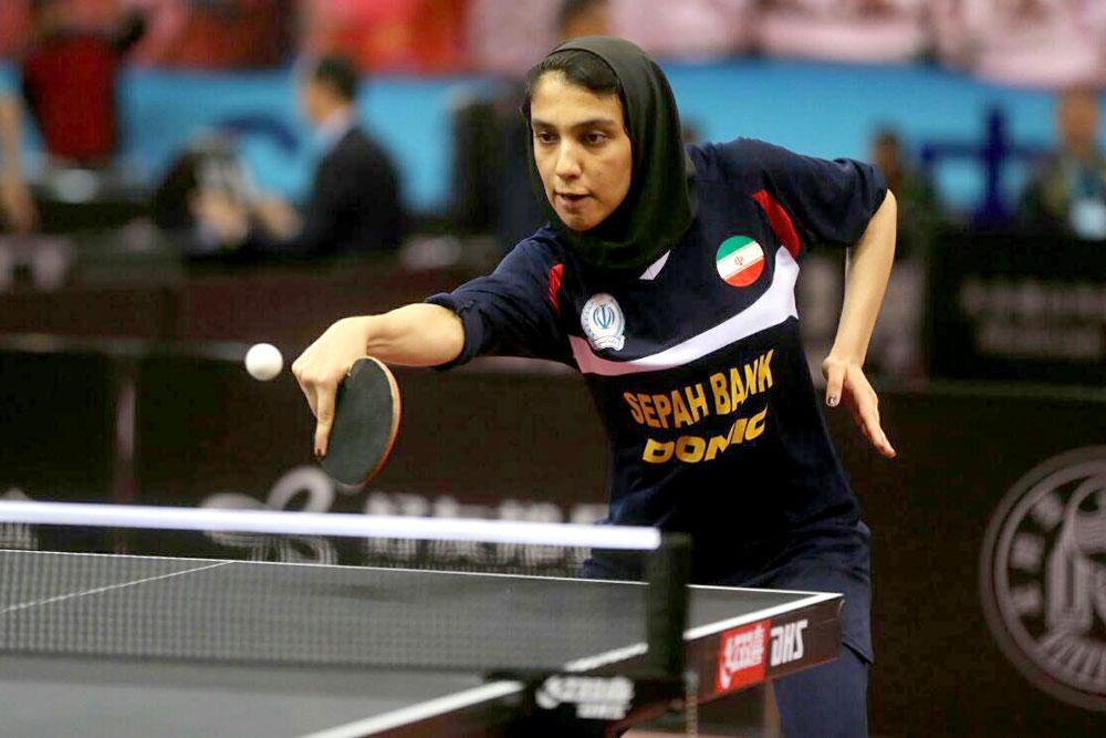 رنکینگ تنیس روی میز ایران در سال ۹۸ | مهشید در صدر ؛ شیما در حال رشد
