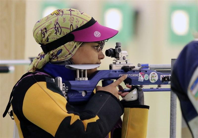 نجمه خدمتی تیراندازی ورزش بانوان Najmeh Khedmati iranian shooter در جدیدترین رنکینگ فدراسیون جهانی تیراندازی| خدمتی سقوط کرد؛ سبقت الهی صعود