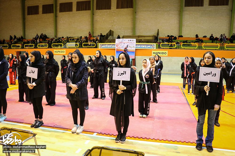 رقابتهای هاپکیدو WHC ؛ دختران رزمی کار قزوین قهرمان شدند