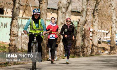 ورزش دو گانه 400x240 درخشش دختران چهار محال در مسابقات دو گانه کشور