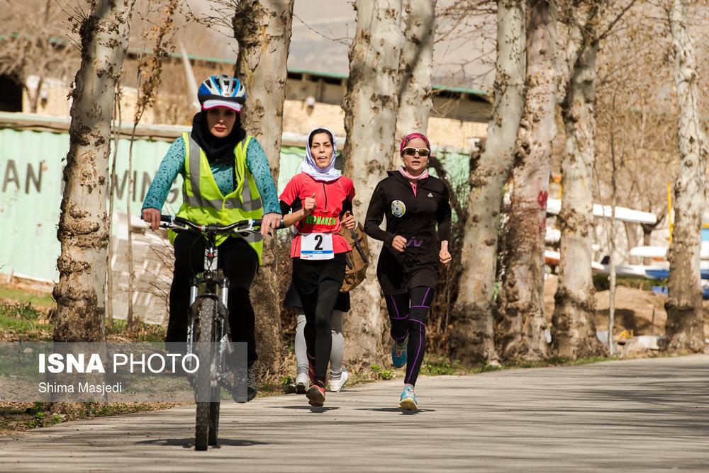 درخشش دختران چهار محال در مسابقات دو گانه کشور