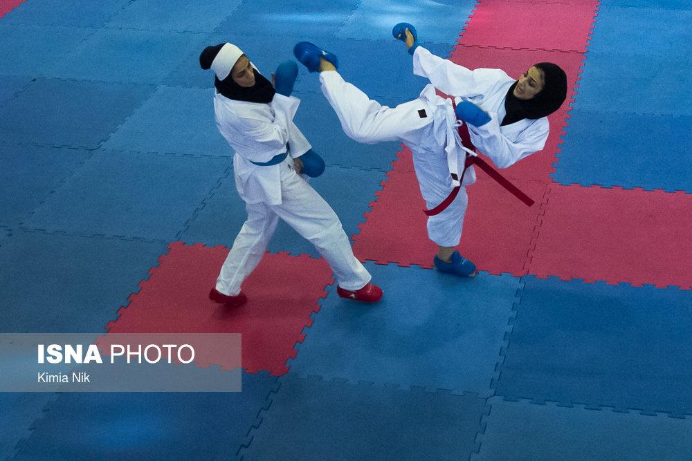 انتخابی تیم ملی کاراته بانوان ؛ درخشش آویشن ، بهمنیار و اعتراضی که کارساز شد