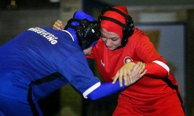 کشتی بانوان wrestling women in Iran iwsports 400x240 آغاز به کار کشتی آزاد بانوان در زنجان