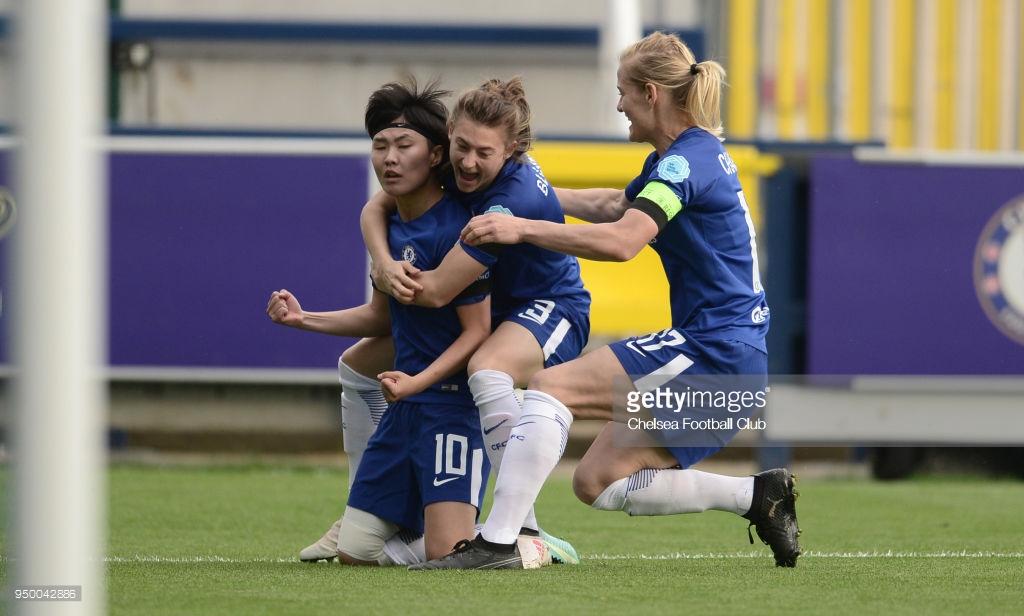 تصاویر نیمه نهایی لیگ قهرمانان زنان اروپا – دور رفت /سیتی – لیون و چلسی – ولفسبورگ