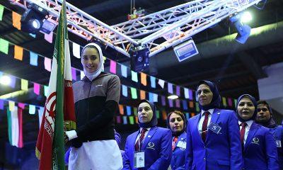 fair cup taekwondo 16 کیمیا علیزاده 400x240 کیمیا علیزاده ، نماینده ورزشکاران ایران در گردهمایی ورزشکاران آسیا