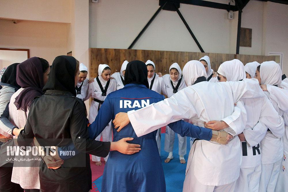 فهرست اردونشینان تیم ملی تکواندو اعلام شد | هفتههای کلیدی پیش روی دخترها