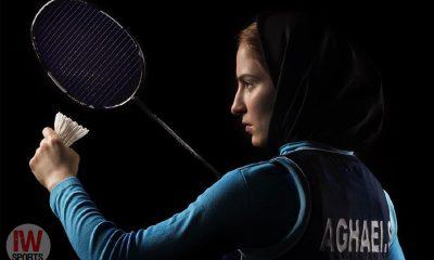 بدیمینتون بانوان Soraya Aghaei Iran female badminton ثریا آقایی 400x240 بدمینتون بین المللی ساحل عاج | آقایی سوم شد ؛ ثمین و ثریا قهرمان بخش دوبل شدند
