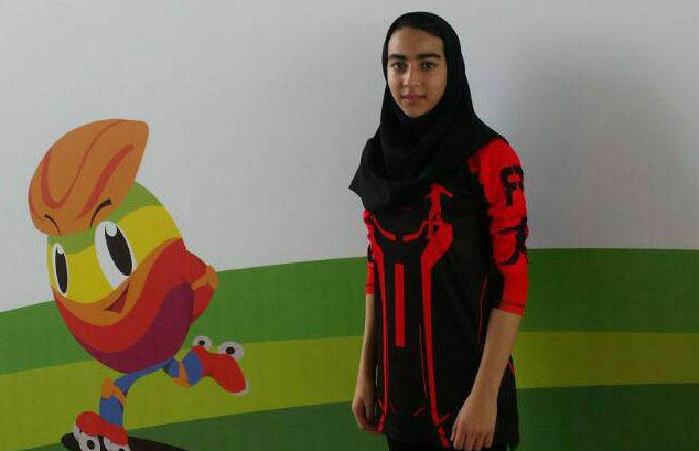 ترانه احمدی؛ رویاهای اسکیت باز جوان