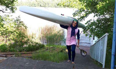 هدیه کاظمی قایقرانی بانوان 400x240 هدیه کاظمی: کسب مدال در جاکارتا دور از ذهن نیست / مسئولان حمایت کنند